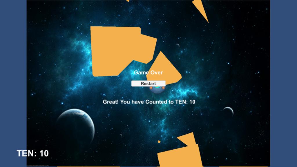 Space Math Game Screen Shot 3
